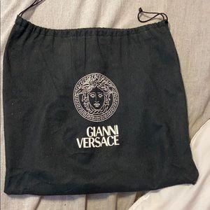 gianni versace handbag & mini wallet/coin purse